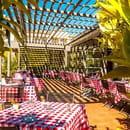 Restaurant : Bistrot  de Fontcaude  - Terrasse Restaurant Bistrot de Fontcaude -   © V&V Photography