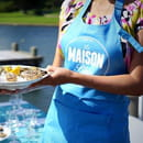 Restaurant : La Maison Bleue  - Huitres -   © ok
