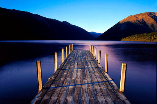 Le lac Rotoiti
