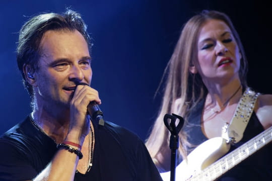 NRJ Music Awards : David Hallyday rend hommage à Johnny en chanson