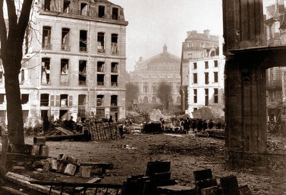 Paris avant-après le baron Haussmann