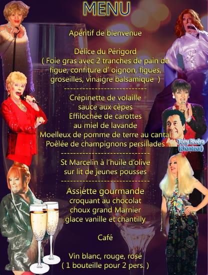 Cabaret dîner-spectacle Rivera-Show