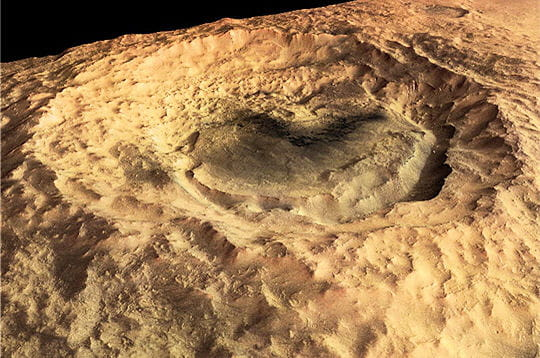 Cratère Maunder