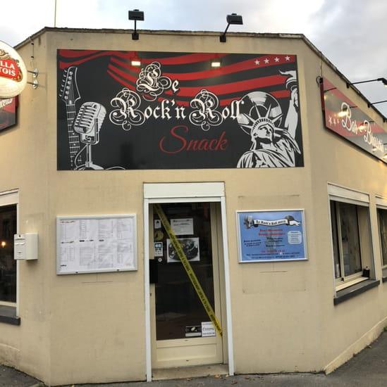 Restaurant : Le Rock'n Roll  - Enseigne du Rock'n roll snack -