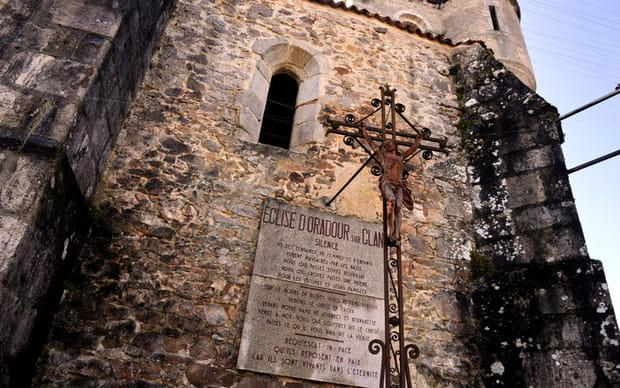 Les ruines de l'église