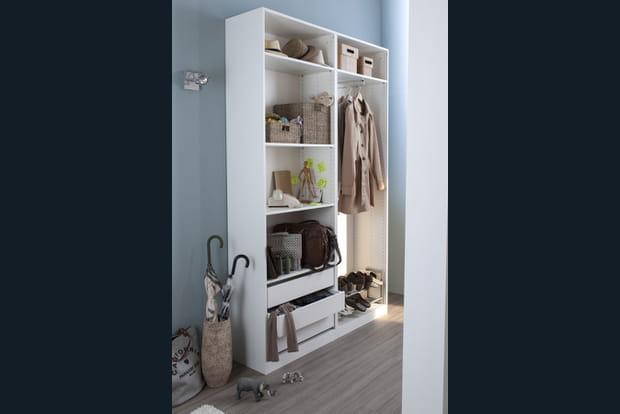 un dressing pour mieux ranger. Black Bedroom Furniture Sets. Home Design Ideas