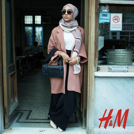 H&M : une femme voilée pour la première fois dans une pub