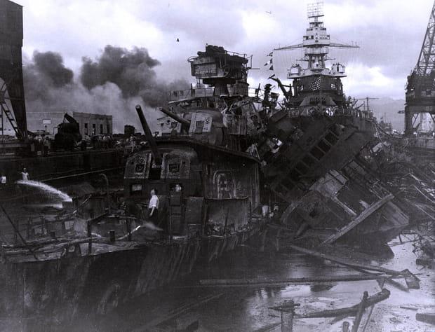 Bateaux endommagés voire détruits