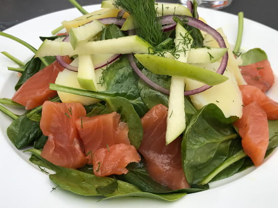 , Restaurant : La Maison Martin  - Salade Nordique -   © Martin Fleury