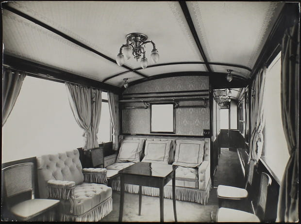 1930-1938: Voiture salon n°2de la Cie du PO