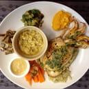 Plat : L'Anse aux Moines  - morgate poele beurre persille -