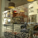Café de la Mairie  - Avant de passer la porte... -