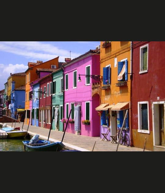 Burano, l'île colorée de la Sérénissime