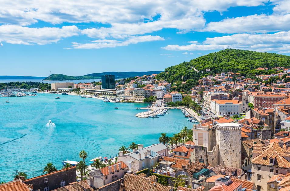 Reflet sur la mer à Split