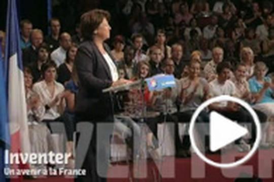 En vidéo: le clip de campagne de Martine Aubry