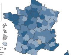 Variant du Covid en France: où circule le plus le variant anglais? (carte)