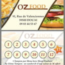 Restaurant : Oz Food