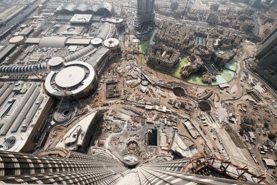 Le parc Burj Dubai