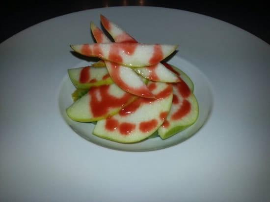 Dessert : Restaurant le M  - Salade de fruits frais -
