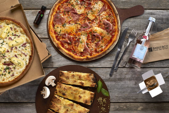 Plat : Basilic & Co Béziers  - pizza -   © Basilic & co