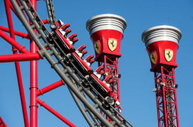 Ferrari Land : le nouveau parc d'attractions en images