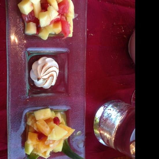 Dessert : Aranc Evasion  - Salade de fruits frais -