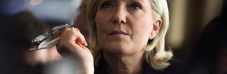 Marine Le Pen sur CNN: elle préfère encore Donald Trump à Hillary Clinton