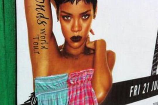 Rihanna nue dans les rues de Dublin: les Irlandais la censurent