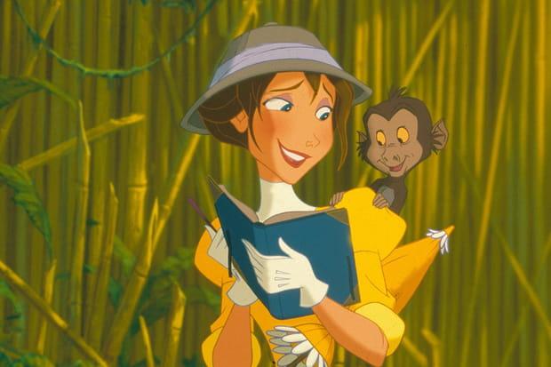Jane dans Tarzan: un raté chez Disney