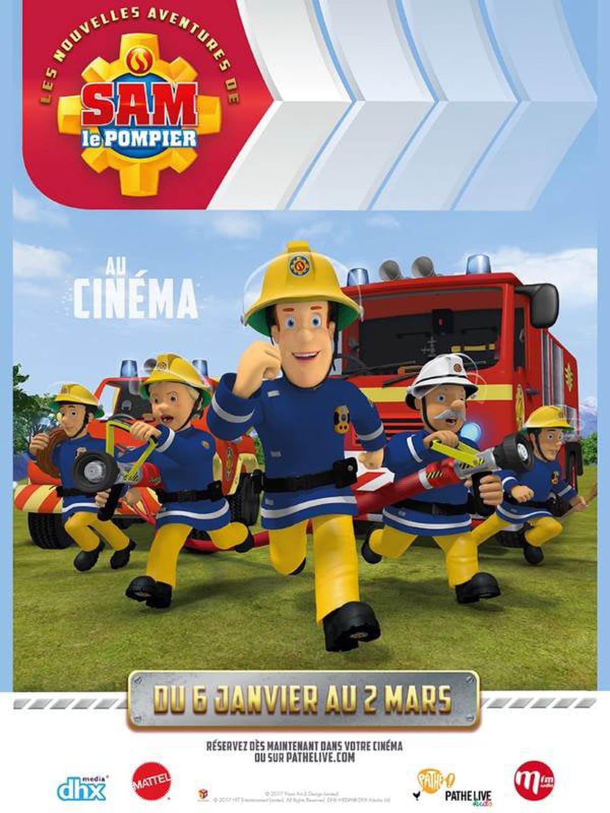 Les Nouvelles Aventures De Sam Le Pompier Bande Annonce Du Film