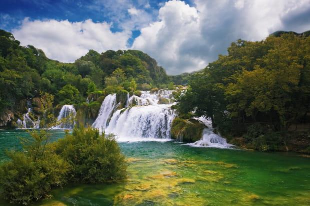 Les cascades de Krka