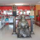 Gengis Khan Grill  - Statue Gengis Khan à l'entrée du restaurant. -