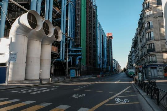 Centre Pompidou: réouverture avec une exposition en hommage à Christo