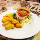Plat : L'air de rien  - Burger 2 luxe au foie gras poêlé ..  -