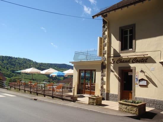Le Chaud Costet  - Terrasse exterieure -