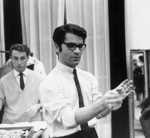 La vie de Karl Lagerfeld en images