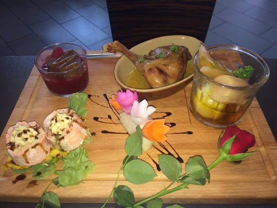 Plat : Brasserie l'Intrepide  - Planche de la St Valentin  -
