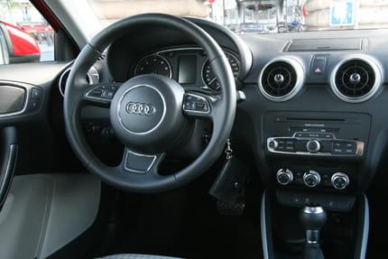 Interieur audi  Intérieur de l'Audi A1 : beau mais peu habitable