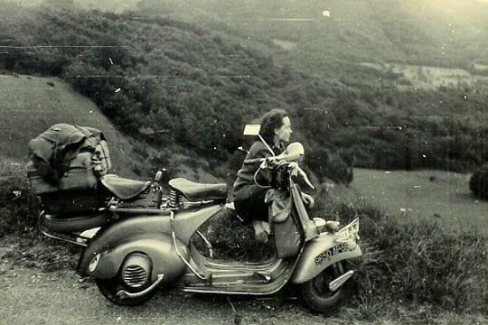 A motocyclette