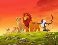 La garde du Roi lion : Le spectacle des babouins