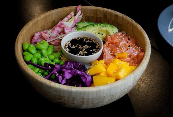 Plat : Ponzu  - Ponzu - Restaurant japonais - Sushi - Bao Burger - Trocadéro - Victor Hugo - Rue Lauriston - Paris 16 -   © Ponzu
