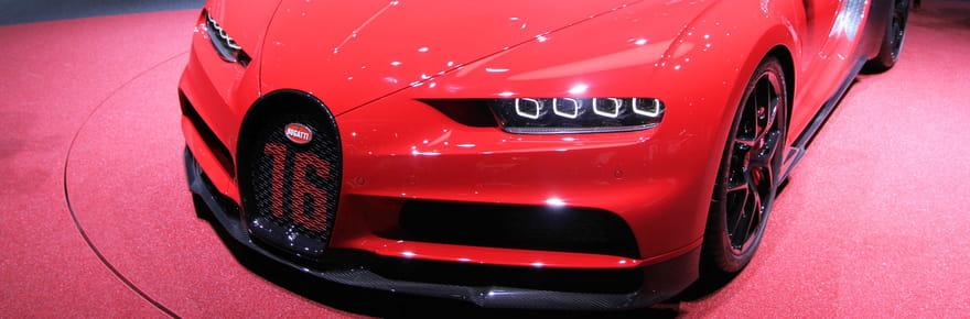 La Bugatti Chiron en images et les photos de la Chiron Sport