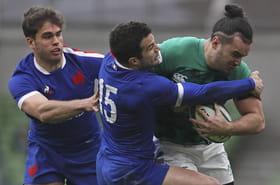 En images: la victoire du XV de France au bout du suspense en Irlande