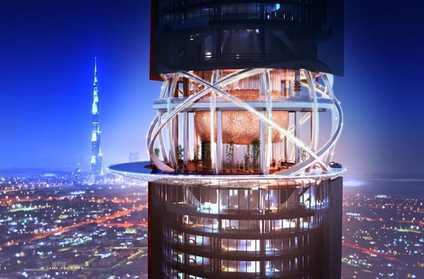 Une forêt tropicale reconstituée dans un hôtel de Dubaï