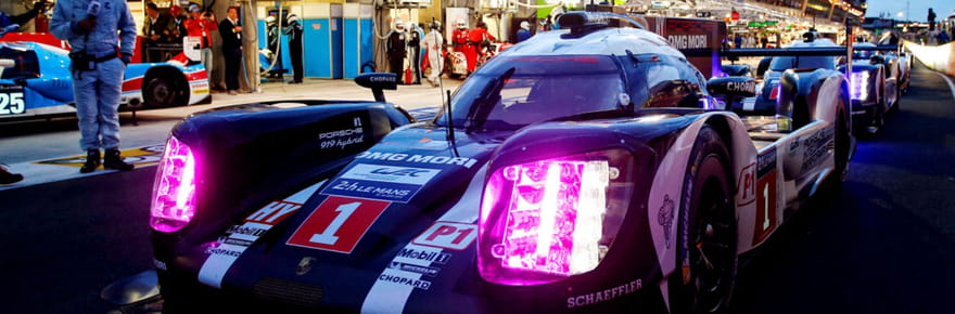 Essais 24H du Mans : Porsche profite de la pluie [classement, résultat, grille de départ]