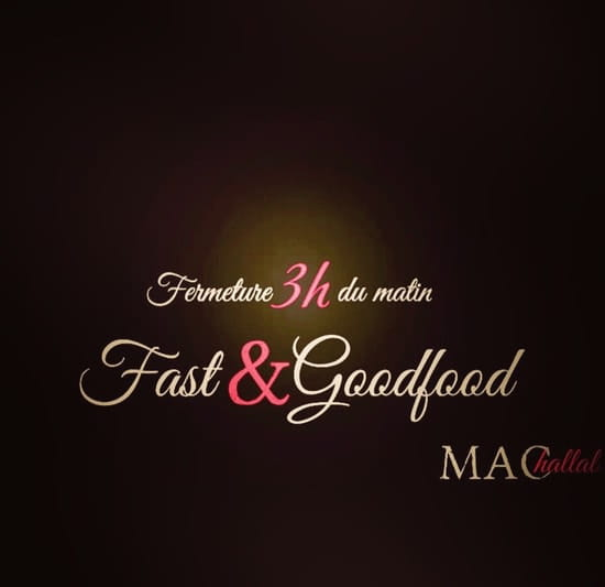 Restaurant : Mac-Hallal  - Mac hallal  -