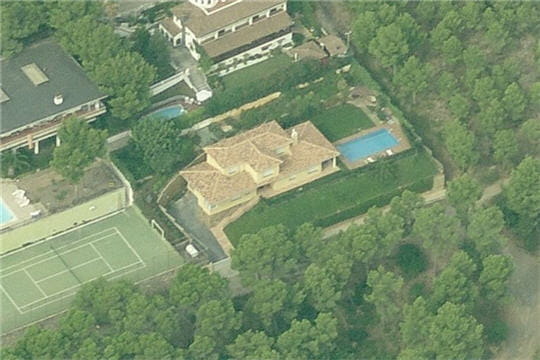 La maison de Lionel Messi