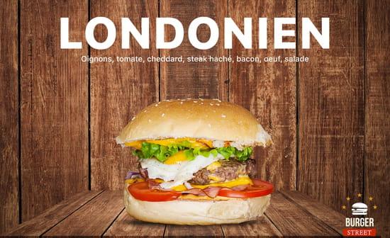 Plat : Burger Street  - Londonien -   © BS