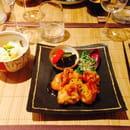 Plat : Nobuki Table Japonaise  - Poulet frit gingembre sauce ankaké -