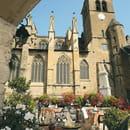 Auberge de l'Abbaye  - la terrasse au pied de l'abbaye -